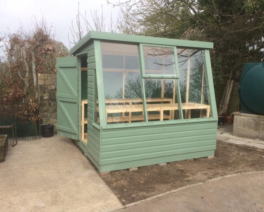 Poultons Dorset-Solar Potting Sheds 1