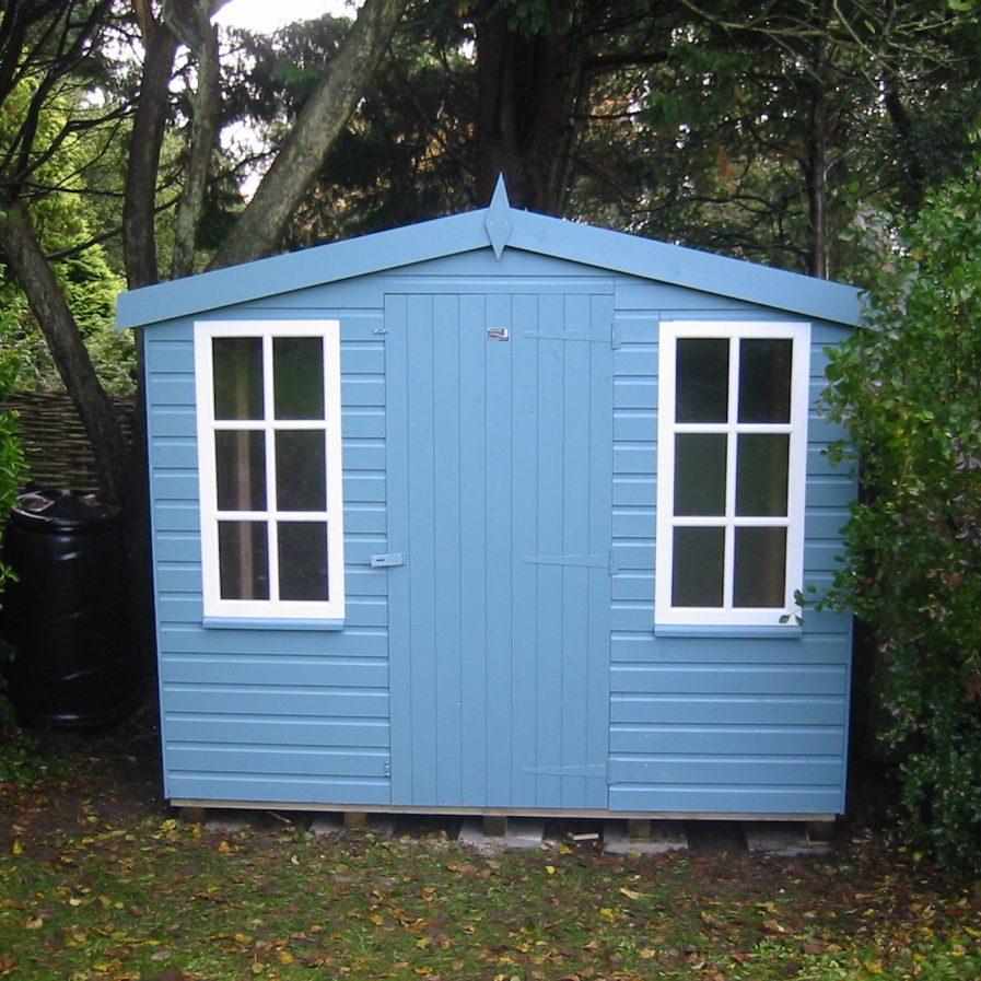 Poultons Dorset-Standard Apex Sheds 2