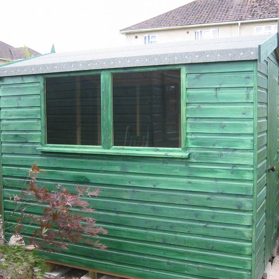 Poultons Dorset-Standard Apex Sheds 3