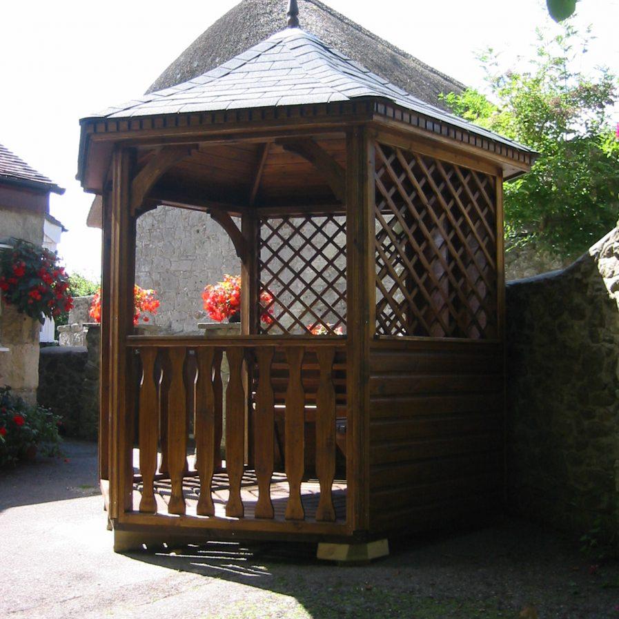 Poultons Dorset-Open Gazebos