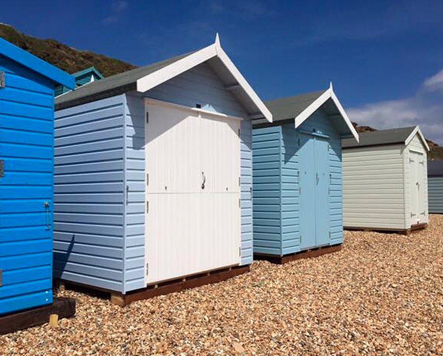 Poultons Dorset-Beach Huts 1