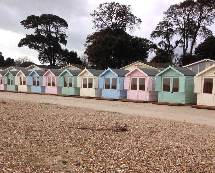 Poultons Dorset-Beach Huts 4
